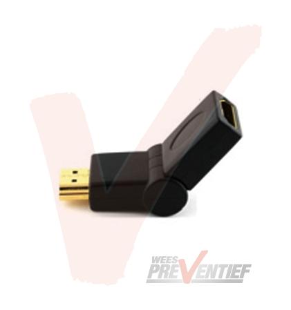 HDMI (Mannelijk) Naar HDMI (Vrouwelijk) 180 Adapter
