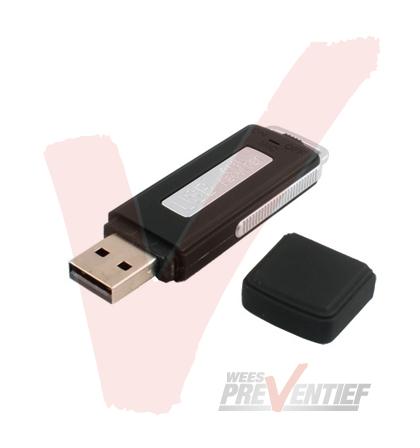 USB STICK Voice recorder 4GB Geheugen