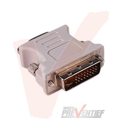 DVI-D (Mannelijk) Naar VGA (Vrouwelijk) Adapter