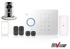 Draadloos Alarmsysteem Chuango G5i + Ip116 Combo