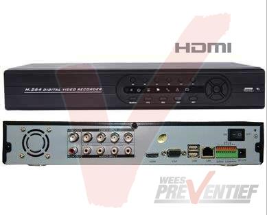 4CH DVR HDMI NL FULL D1