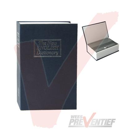Verborgen Kluisje In Een Woordenboek Met Cilinderslot (Grote Maat)