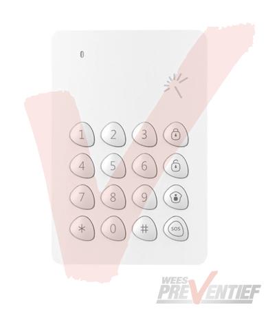 Chuango Draadloos Keypad KP-700