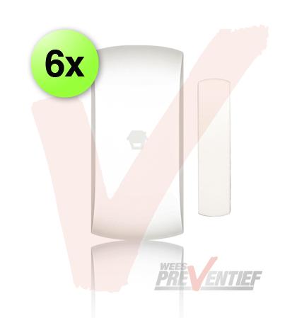 6x Chuango Draadloos Magneetcontact DWC-100
