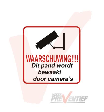 Camerabewaking Stickerset 2
